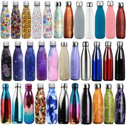Insulated Water Bottle Vacuum Flask Thermal Sport Chilly Col
