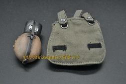 """1/6 scale WWII Garmany Army Bag and Water Bottle for 12"""" act"""