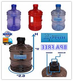 1 Gallon BPA FREE Reusable Plastic Drinking Water Bottle Jug