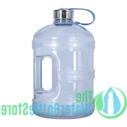 1 Gallon BpA Free Reusable Water Bottle Jug Stainless Steel
