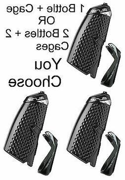 1 or 2-Pack Elite Crono CX Aero Water Bottle & Carbon Fiber