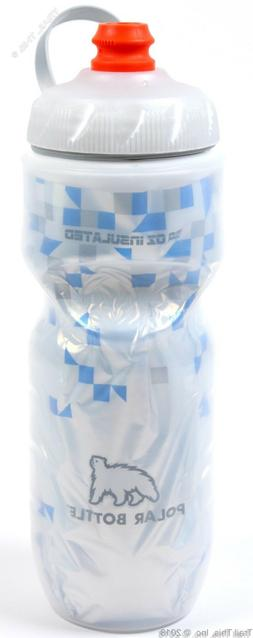 1 or 2-Pack Polar Zipstream 20oz Breakaway Blue Insulated Cy