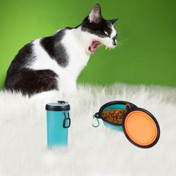 1 Set of Safe Portable Creative Pet Water Bottle Travel Wate