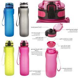 1000ml BPA-Free Big Capacity Water Bottle Sport Fitness Trav