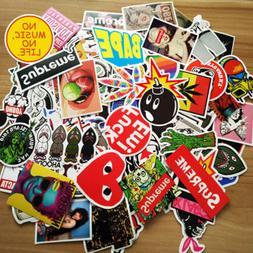 100Pcs Vinyl Waterproof Stickers for Wat