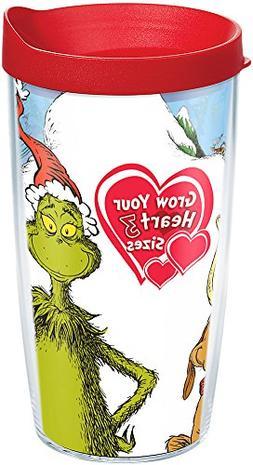 Tervis 1184681 Dr. Seuss - Grinch Grow Your Heart Tumbler wi