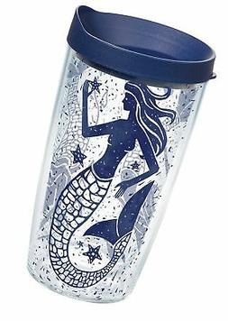 Tervis 1199002 Vintage Mermaid Collage Tumbler with Wrap and