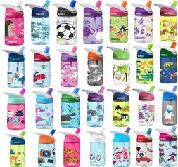12 Oz Kids Water Bottle Camelbak Eddy 100% Free BPA Spill-Pr