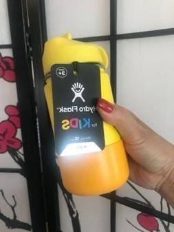 Hydro Flask 12 oz Kids Water Bottle Lemon