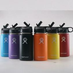 Hydro Flask 12 oz Stainless Steel Mouthwide Water Bottle Fla