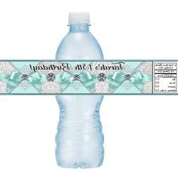 12 Tiffany Blue Ribbon Diamonds Birthday Party Baby Shower W