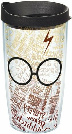 Tervis 1209497 Harry Potter - Glasses and Scar Tumbler with