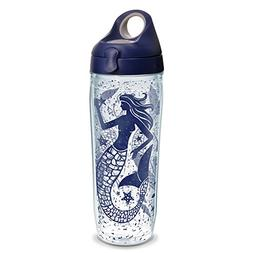 Tervis 1232305 Mermaid Collage Wrap Water Bottle with Navy W