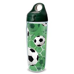 Tervis 1235810 Soccer Balls - Turf Background Tumbler with W