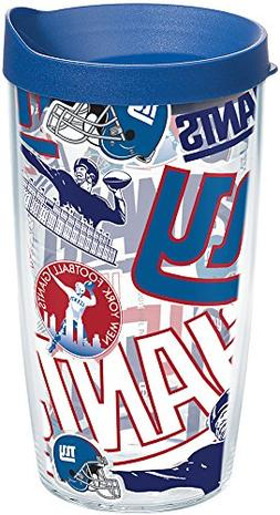 Tervis 1248298 NFL New York Giants All Over Tumbler with Wra