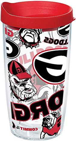 Tervis 1252205 NCAA Georgia Bulldogs All Over Tumbler With L