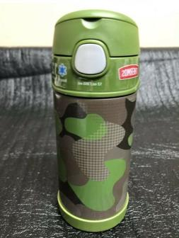 Thermos 12oz FUNTAINER STAINLESS STEEL WATER BOTTLE WITH STR