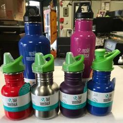 Klean Kanteen 16 oz with Cafe Cap lid 20 oz  w/ Water bottle
