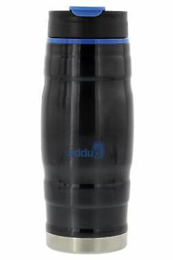 bubba 16oz HERO stainless steel water bottle, gray/blue