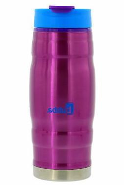 bubba 16oz HERO stainless steel water bottle, purple/blue