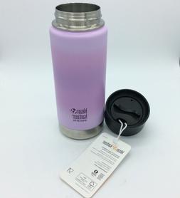 Klean Kanteen 16oz Insulated Wide Purple Water Bottle Cafe C