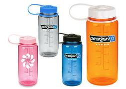 Nalgene 16oz Wide Mouth BpA Free Plastic Tritan Screw Water