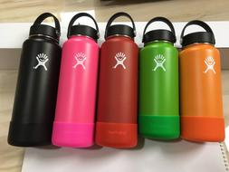 18/32/40OZ Hydro Flask Insulated Wide Mouth Water Bottle W/F