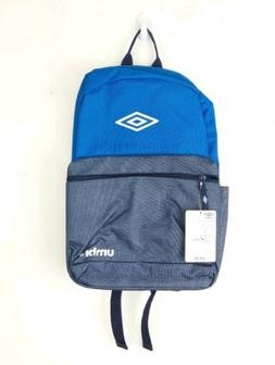 """Umbro 18"""" Backpack Soccer School Bag water bottle pocket lap"""