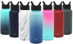 Simple Modern 18oz Summit Water Bottle With Straw Lid - Vacu