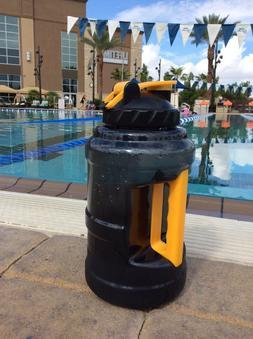 2.5L / 85oz Large Sport Gym Training Drink Water Bottle Cap