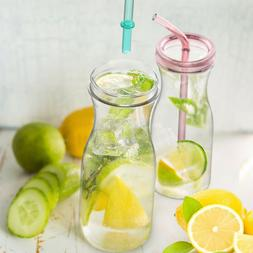 33OZ Water Bottle Drinking Tumbler With Straw BPA Free Dishw