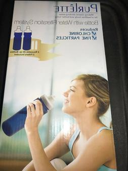2 Purlette Water Bottle Filtration System Filter Included In
