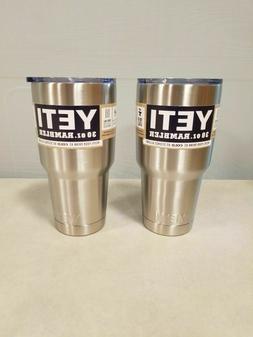 Yeti Rambler Stainless Steel Coffee Mug Cup Insulated 30oz