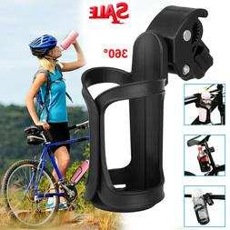 Bike Cup Holder Cycling Beverage Water Bottle Cage Mount Dri