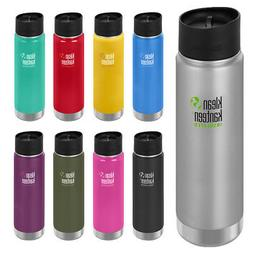 Klean Kanteen 20 oz. Wide Insulated Bottle with Cafe Cap