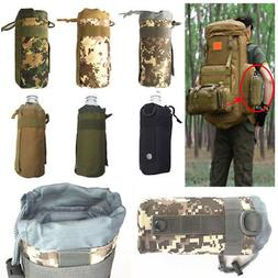 2018 Portable Outdoor Tactical Molle Water Bottle Bag Pouch