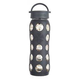 Lifefactory 22oz Glass Water Bottle w/ Sleeve 24k Fused Gold