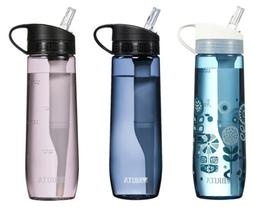 Brita 23.7 Ounce Hard Sided Water Filter Bottles with 1 Filt