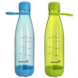 23 Ounce Water Bottle With Handle No BPA Durable Tritan Spor