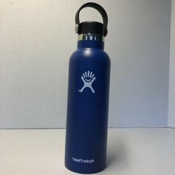 HYDRO FLASK 24 OZ FLEX CAP COBALT WATER BOTTLE/STAINLESS STE