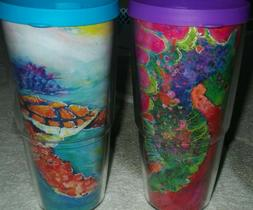 TERVIS~24 oz.Tumbler w//Lid~*Leoma Lovegrove~You Choose Pattern Style*~Comes NEW