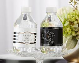 24 Personalized Classic Water Bottle Labels Bridal Shower We