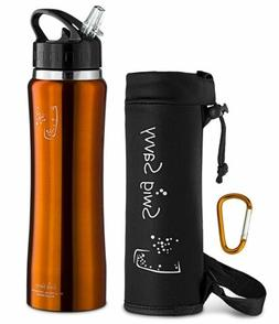 Swig Savvy 25 Oz Stainless Steel Insulated Wide Mouth Water