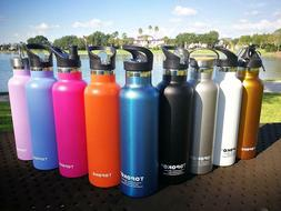 TOPOKO 25 oz Stainless Steel Vacuum Insulated Water Bottle w