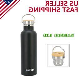 TOPOKO 25oz Stainless Steel Insulated Water Bottle, Leak Pro