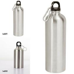 25oz Stainless Steel Sports Water Bottle Leak Proof Cap Gym