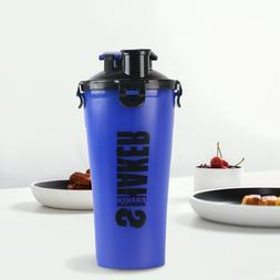 28 oz Shaker Sports Fitness Bottle Blue Sports Drink Water C