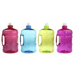 2L Large BPA Free Sport Gym Training Big Drink Water Bottle