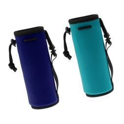 2Pcs/set 500ML Water Bottle Carrier Holder Insulated Neopren