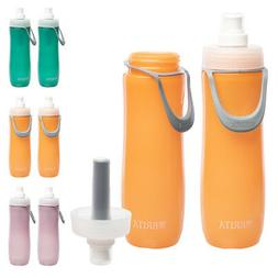 2pk 20oz Brita Water Bottles With Straw And Filter Purifier